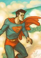 Warm Palette Superman by dio-03