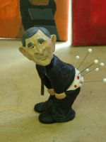 George W Bush Pin cushion by spectrestudios