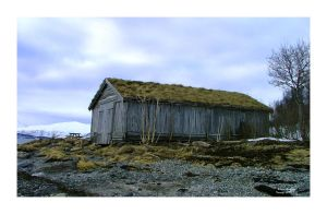The Old Fishboat House I by auroraboralis