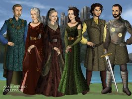 The Tyrells by SingerofIceandFire