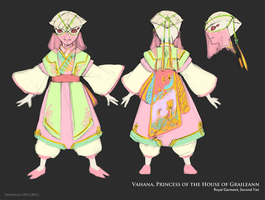 30min Quick Ref - Princess Vahana's Garment by StellarStateLogic