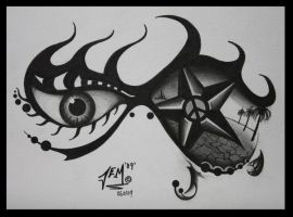 see what i see tattoo design by JEMDOT