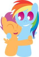 Squishy Scootadash by DaringDashie