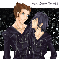 Happeh Zexion Month by Eru-kun