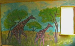 2011May- wip,Mural painting 1 by Dreamplayer