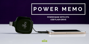 POWER MEMO by aiia promo gifts by aiia-promo-products