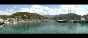 Port Of Soller - Mallorca by skarzynscy
