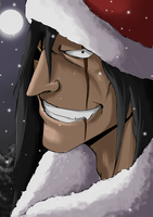 Kenpachi for washu-m by christmastime4art