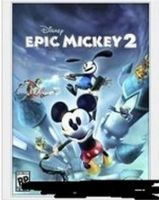 Epic Mickey 2 Box Art by swarlock64
