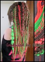 dreads made by my friend by FilthyDreads