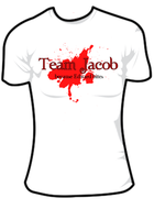 Team Jacob T-shirt by mizsprieta