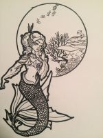 Another mermaid!! by Celerybandit
