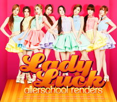 Lady Luck After School Renders by foreverGIKWANG