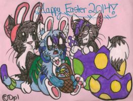 CE: Happy Easter 2014! by dragonpop1