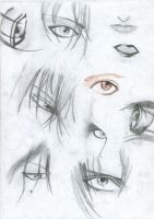 Manga and Anime Eyes 2 by 19Ilili88