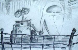 Wall-E and Eve WIP by Arri-Stark