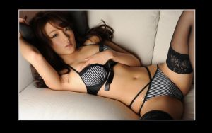 Asian Lingerie Model 05 by marquitos