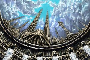 Damned Spires. by kuoke
