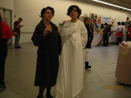 Sherlock and Irene Adler at AAC by PsychoBabble192