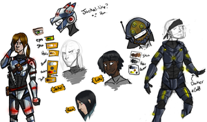 Character Analysis - Loki and Jackal by Vulbreeon
