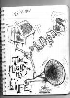 The music in my life by LaracaPop