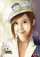 yoona painting by Opira7