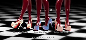 DL coming soon Louboutin Daffodile Special Pack by chatterHEAD