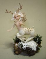 The White Deer by Fairiesworkshop