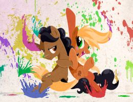 The Color Partners by kyle23emma