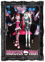 Monster High - Best Friends by Nko-ennekappao