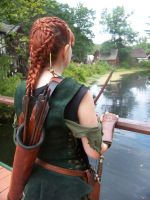 Elven Archer--Bridge by celticbard76