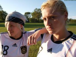 germany and the world cup II by resubee