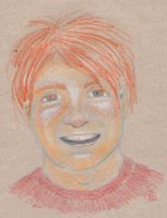 Ronald Weasley by Dinahleit