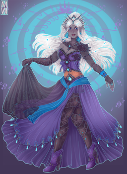 :Custom: Drow Queen by MMtheMayo