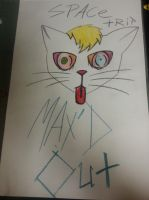 random trippy cat (OFWGKTA) by superblitz3612