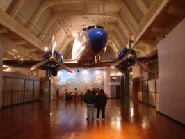 DC-3 Hanging from the ceiling by silentnight745