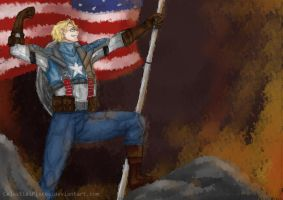 Captain Alfred F. Jones by CelestialPisces