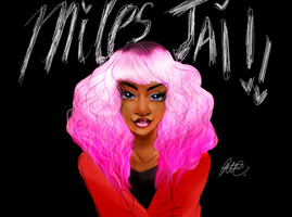 Drawing of: Miles Jai. by RirooNeal