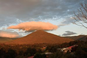 Mt Riddell Clouds by Bjay70