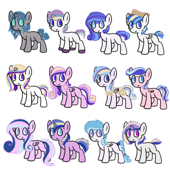 Cadence x Shining armor adopts (0P3N) by FiteMe-Daddy
