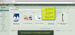 Deviation Filter of Watchers And Groups by princepal
