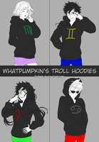 HS - Troll Hoodies Full Set [GIF] by feshnie