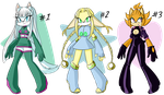 Adoptables Set 1 (SET PRICE) CLOSED! by HarpieLady1