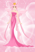queen Lady serenity colored  by CodeNameSailorComet