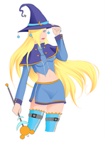 Black Mage Ino by The-Devil-Butterfly