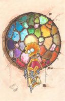 Stained Glass by kaspired