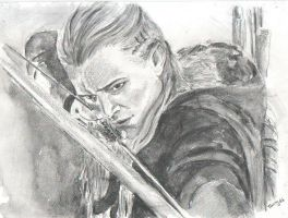 Legolas Arrow by Powerfulwoodelf