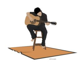 playing my guitar by jmso
