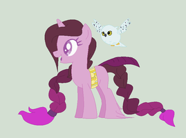 Birdcage Pony - Lilac Frost by Seek-the-Moon