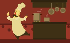 the chef by Alexisvivallo